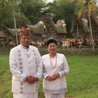 Presiden RI Susilo Bambang Yudhoyono beserta Ibu Ani Yudhoyono saat melakukan kunjungan di Sulawesi Selatan