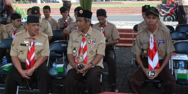 Bersama Ka. Kwarnas dan Ka.Kwarcab Bogor