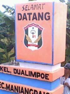Batas Kelurahan DualimpoE