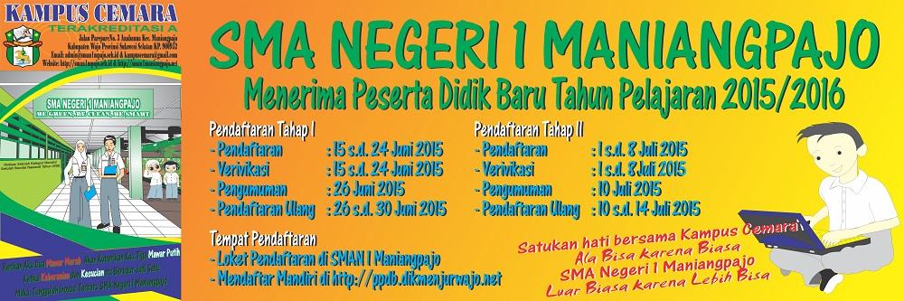 Banner Penerimaan Peserta Didik Baru free download