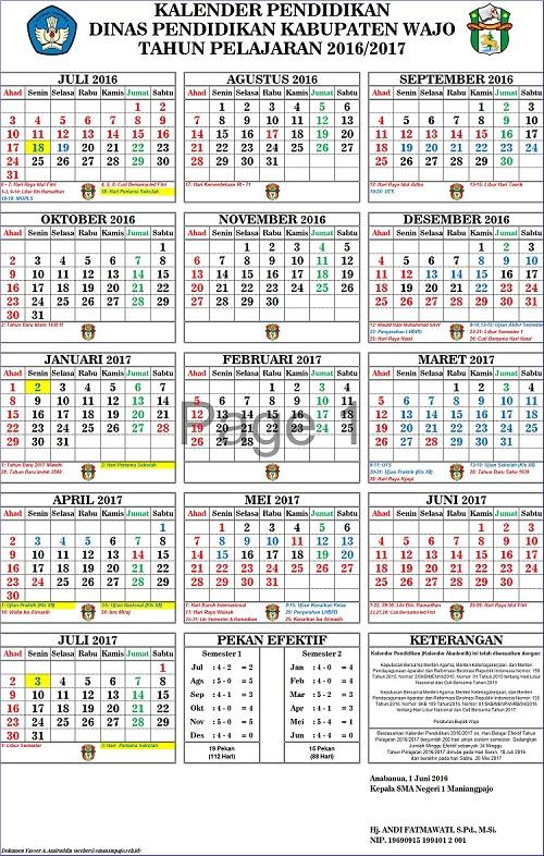 Kalender Pendidikan MP 1617 - 0